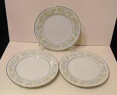 LOT 3 Towne House Selected Fine China Georgia   Bread Butter Plates #3600  Japan