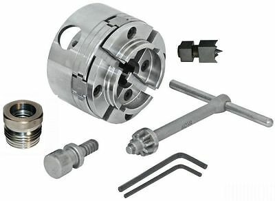 Nova 48202 G3 Woodlathe Chuck Kit, Insert Version, With Insert & Ncsc Chuck Spur