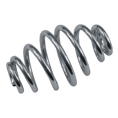 "Chrome 4"" Tapered Solo Seat Spring"