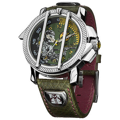 Quality STAR WARS BOBA FETT WATCH Official Licensed Fathers Day Birthday Gift