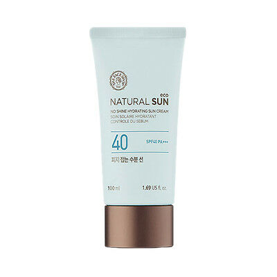 [THE FACE SHOP] Natural Sun Eco No Shine Hydrating Sun Cream - 100ml