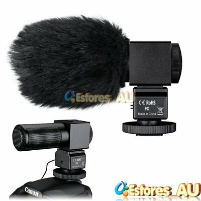 TAKSTAR SGC-698 Interview Recording Stereo MIC Microphone For DSLR Camcorder【AU】