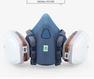 7 Piece Suite Respirator Painting Spraying Face Gas Mask Protective for 3M 7502
