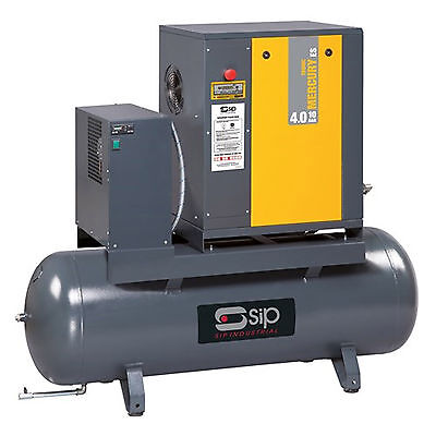 Sip 06274 Mercury Tron 4.0-10-200Es Screw Compressor & Dryer