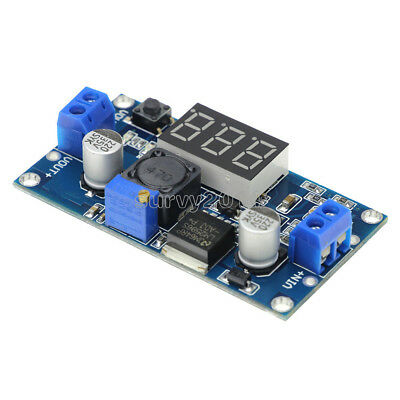 LM2596 Buck Step-down Power Converter Module DC 2.5~40 to 1.25-35V  Voltmeter