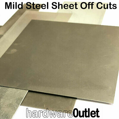 1 Kg Mild Steel Sheet Off Cuts Bargain Price - Guillotine Cut MIG  Practice?