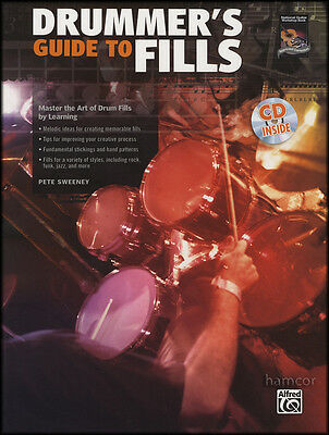 Drummer's Guide to Fills Drum Music Book/CD by Pete Sweeney
