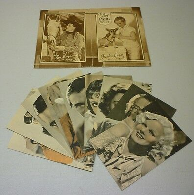 Rare 1930's The Boys Cinema Wallet Full 10 Photos Set With Envelope