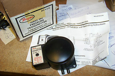 nw dwyer 604-0 differential pressure transmitter