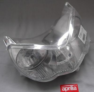 New Aprilia Sport City Derbi Rambla OEM Headlight Lens Reflector Unit 852367