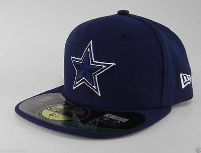 NEW ERA 59Fifty Youth Kids Cap Dallas Cowboys Navy Blue Star 5950 Fitted Hat