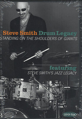 Steve Smith Drum Legacy Tuition DVD/CD SET Learn How To Play