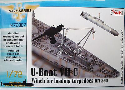 "CMK 72007 Detail Set ""Winch for Loading"" für U-Boot VIIC Revell® in 1:72"