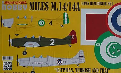 SPECIAL HOBBY 48149 Miles M.14/14A HawkIII/Magister Mk.I in 1:48 LIMITED