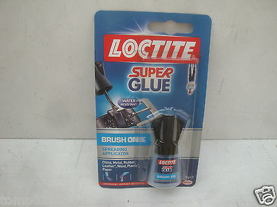 Henkel Loctite Easy Brush Super Glue 5Gram Liquid Strongest Ever