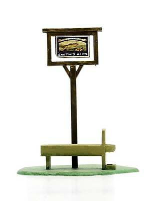 Dapol C077 Pub Sign and Horse Trough Kit OO Gauge