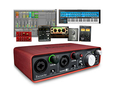 Focusrite Scarlett 2i2 2nd Generation 2 In 2 Out USB Audio Interface