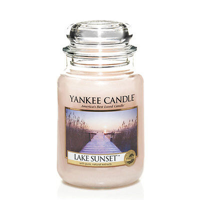 Yankee Candle Duftkerze Housewarmer Lake Sunset (623g)