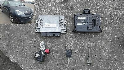 immobiliser ecu kit 8200522357 renault clio 1.4 mk3 yt06fgx 05-13 sheffield