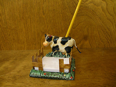 COW MEMO HOLDER #4605-4,  NEW  From Retail Store by RANGER 2.825""
