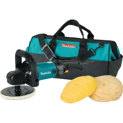 Makita 9237CX3 7 In Polisher Loop Handle with Wool Pads and Bag