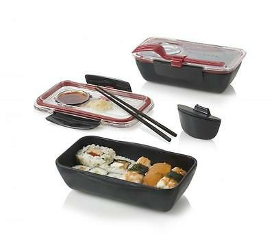 Black + Blum Lunchbox Bento Box Schwarz