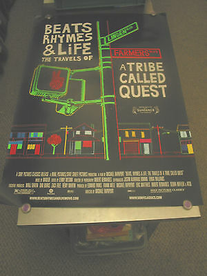Beats,rhymes And Life /orig U.s. One Sheet Movie Poster ( A Tribe Called Quest)