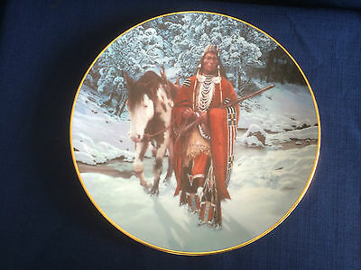 "Hamilton The Last Warriors ""Winter Of 41""  US Indian plate"