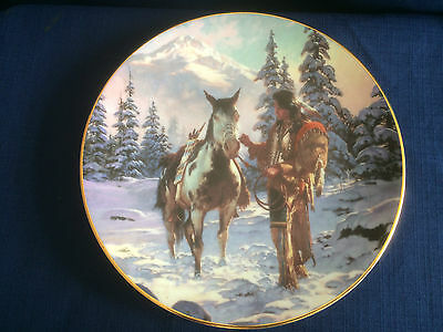"Hamilton The Last Warriors ""Morning Of Reckoning""  US Indian plate"