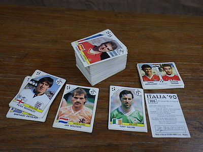 original FOOTBALL STICKERS PANINI ITALIA 90 WORLD CUP 1990 Chose in list UPGRADE