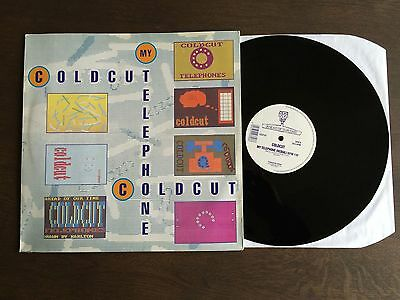 "COLDCUT My Telephone 12"" 1989 NM vinyl single record Ahead Of Our Time CCUT 6T"