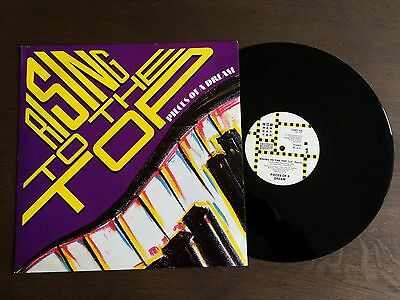 "PIECES OF A DREAM Rising To The Top UK 12"" 1988 EX/NM vinyl Jazz Fusion 12MT 54"