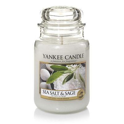 Yankee Candle Duftkerze Housewarmer Sea Salt & Sage (623g)