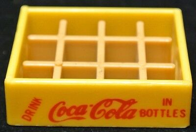 Vintage 1970's DRINK Coca-Cola IN BOTTLES Miniature Plastic Soda 12 Pack Crate