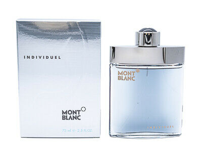 Individuel by Mont Blanc 2.5 oz EDT Cologne for Men New In Box