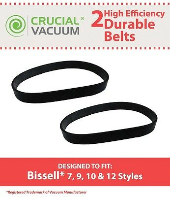 2 Durable Bissell Style 7 9 10 12 Belts 32074 3031120