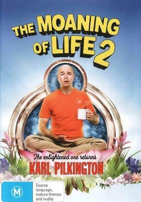 The Moaning Of Life - Season / Series 2 DVD R4 Brand New!