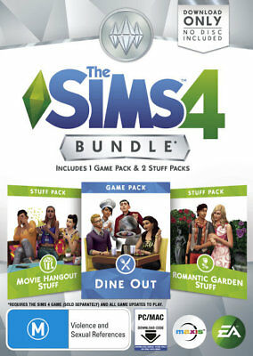 The Sims 4 Bundle 3 Add On (Download Code Only) PC  Brand New!