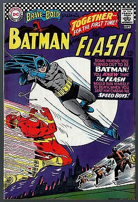 Brave and the Bold (1955) #67 VF- (7.5) Batman and Flash