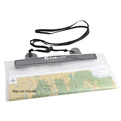 Trekmates Soft Feel Map Case - water-proof protective bag for maps or valuables,