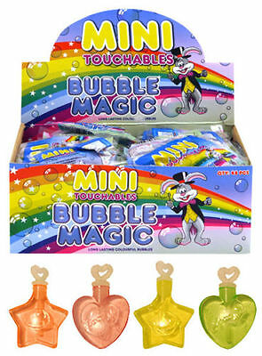 Children's Mini Touchable Bubbles Tubs Kids Party Bag Loot Fillers Pina Toys UK