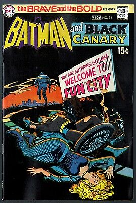 Brave and the Bold (1955) #91 FN+ (6.5) Batman & Black Canary