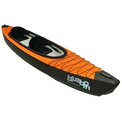 Blueborn Boat KK2 Drop Stitch - 2 person touring kayak with nylon hull 365x77 cm