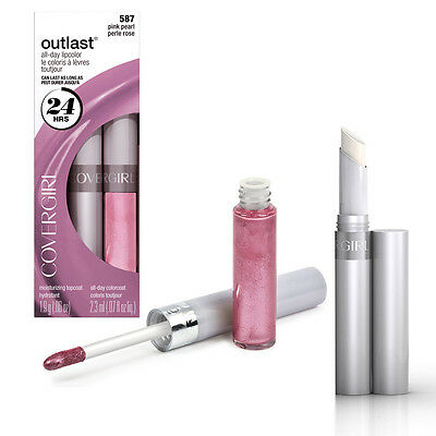 Covergirl Outlast All-Day Lipcolor -550 Blushed Mauve- New