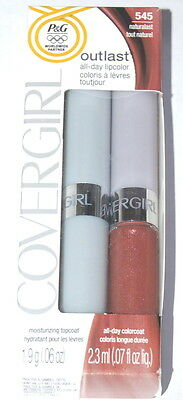 Covergirl Outlast All-Day Lipcolor -545 Naturalast- New