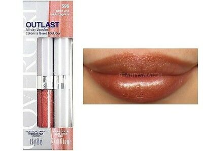Covergirl Outlast All-Day Lipcolor -665 Bronze Beauty- New