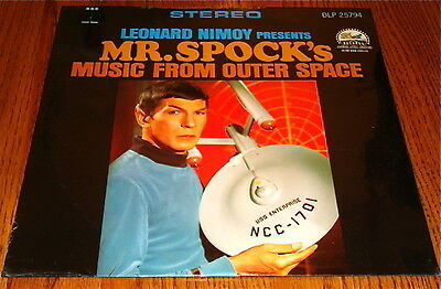 Leonard Nimoy Presents Mr. Spock Music From Outer Space Original Lp Sealed