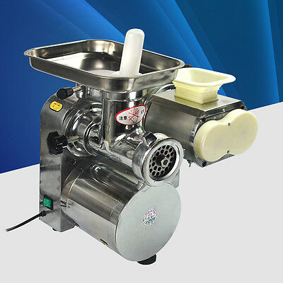 Commercial Stainless steel meat slicer mincer grinder, meat cutting machine  E
