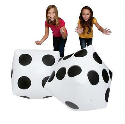 Pop Fun Soft Cubes Dot Cube Square Giant Inflatable Dice Beach Toy Party Toy LG