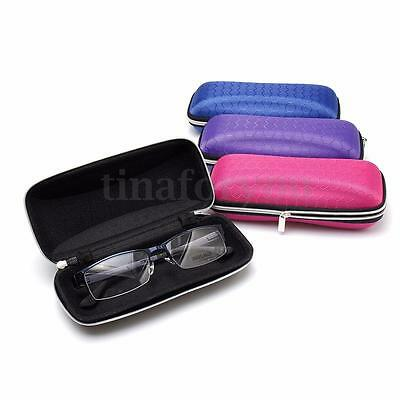 Zipper Hard Glasses Storage Spectacle Reading Glasses Case Box Protector Holder